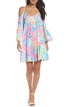 New LILLY PULITZERLILLY PULITZER? Alanna Cold Shoulder Dress fashion online. [$178]?@shop.fshdress<<
