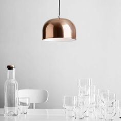 """20 years after its original conception in 1984, the """"Grethe Meyer Lamp"""" was put into production for the first time by Menu."""