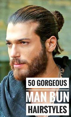 50 Handsome Man Bun Hairstyles Man Bun Hairstyles Bun Hairstyles Man Bun