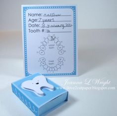 Lettering Delights - Tooth Fairy Box