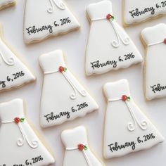 Bridal shower cookies!