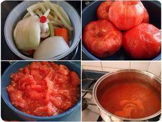 Receta: salsa de tomates casera