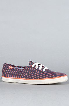 Keds The Champion Candy Stripe CVO Sneaker in Navy $15