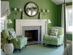 Green Living Room Ideas Inspiring Color Meaning