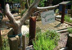 It's a sensory garden for children.  Google Image Result for http://tvap.co.uk/userfiles/images/tour_out_sensory_garden/sensory_garden1.jpg