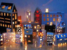 Bouw een lichtjesstad.   Bouwman & Bouwman