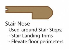 21 Best Stair Nosing Images Stairs Staircases Stairway