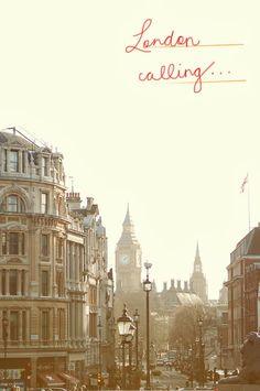 london calling... <3 the transcontinental affair