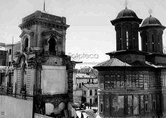 Demolarea hanului Kretzulescu în perioada interbelică Timeline Photos, Big Ben, Building, Travel, Bucharest, Viajes, Buildings, Trips, Traveling