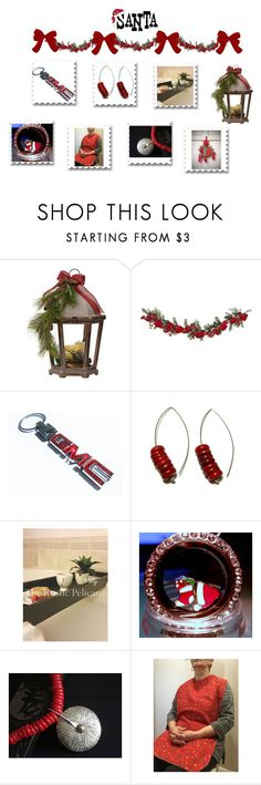 Gifts to help out Santa by cozeequilts on Polyvore featuring Nearly Natural and rustic
