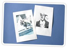 inkjet image transfers   ---I've done this before, super easy and looks awesome!
