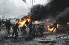 Euromaidan: Culture of the confrontation by Maxim Dondyuk | Photographic Museum of Humanity