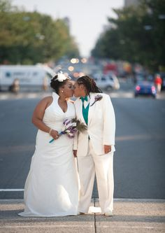 12 photos of JaLissa and Janell beginning their journey together in Washington, D.C. | Freedom to Marry