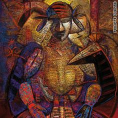Philippe Dodard (born 1954) is a Haitian graphic artist and painter. Born in Port-au-Prince, Dodard worked as an advertising illustrator. His works have been exhibited throughout Europe and the Americas.