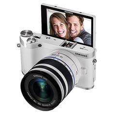 20.3MP SMART Camera w/ 18-55mm Lens EV-NX300MBQUUS | Samsung Digital Imaging
