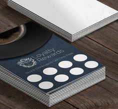 Cheap Loyalty Card Printing From Only Loyalty Card Design, Loyalty Cards, Business Card Design, Business Cards, Layout Design, Print Design, Coupon Design, Creative Cards, Brochure Design