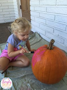 Simply Speech: Pumpkin Fun! Turn pumpkin decorating into a speech & language activity! - repinned by @PediaStaff – Please Visit ht.ly/63sNtfor all our pediatric therapy pins