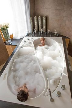 BAT Bathing Apart Together. Inspirational Luxury Master Bathroom Design Ideas and Photos - Zillow Digs