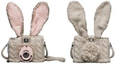 A camera cozy, mask and padding all in one!  from Beci Orpin.