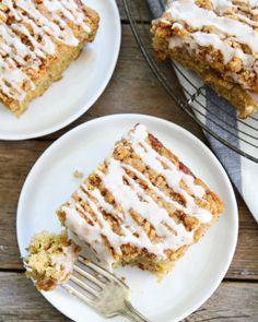 Brown Butter Zucchini Coffee Cake