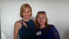 Met the lovely Mari Smith, Facebook queen at #Bigsocial