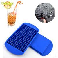1 PC Hot Summer 160 Buracos Silicone Cubo De Gelo Bandeja Molde Pequeno praça…