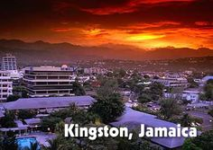 Kingston, Jamaica.  2001-2002, many times, with The Carter Center.