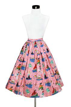 Jenny Skirt in Neverland Print