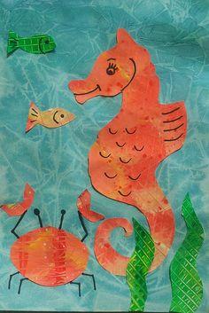 template seahorse