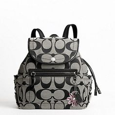 coach backpack purse outlet b19c  Coach Outlet Backpack Purse