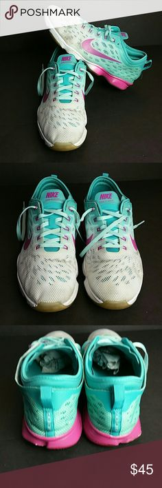 NIKE ZOOM FIT AGILITY WOMEN SHOES IN GOOD CONDITION   SKE # GY 4 NIKE Shoes Athletic Shoes