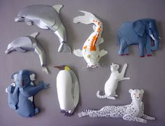 More Paper Animals by Andy MacGregor
