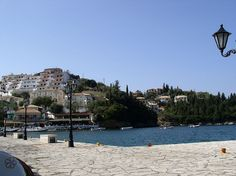 Syvota is a village in Epirus, Greece                                Photo from harbour of Syvota village