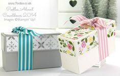 Pootles Advent Countdown #23 Floral and Festive Box Tutorial