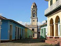 Trinidad (Cuba) Vista del centro histórico de Trinidad.