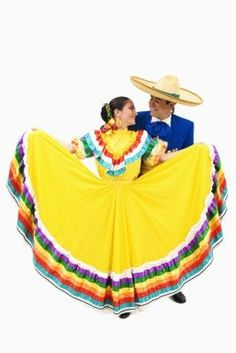 How to Make a Children's Folklorico Skirt