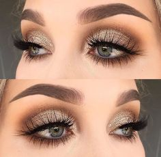 # Make-up 2018 Winter Themen Augen Make-up Looks & Ideen # 12 + . - Eye Makeup Looks - Make-up Love Makeup, Makeup Inspo, Makeup Inspiration, Makeup Ideas, Makeup Tips, Makeup Tutorials, Makeup Lessons, Makeup Geek, Simple Makeup