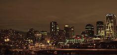 Edmonton Winter Night