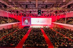 Four General Session Sets That Will Get Everyone Talking.  General sessions are a great central location to inspire your attendees.