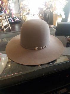 bfd8cce8963be Resistol Men s Winner s Circle 30X Beaver Cowboy Hat Size 7 Brim 4-head  turner