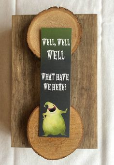 Bookmarks Quotes, Oogie Boogie, Totally Awesome, Nightmare Before Christmas, Stocking Stuffers, Pixie, Card Stock, Clip Art, Wellness