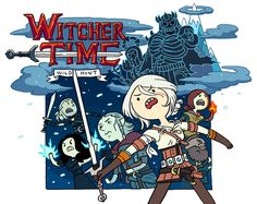 Witcher Adventure Time