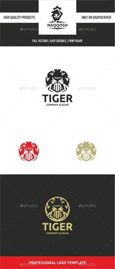 Tiger Logo - Animals Logo Templates
