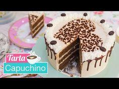 Tarta Capuchino | Cappuccino Cake | Quiero Cupcakes! - YouTube Cupcake Recipes, Cupcake Cakes, Dessert Recipes, Oreo, Espresso Cupcakes, Sweet Factory, Tacos, Drip Cakes, Cookie Desserts