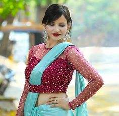 Add belt to get Designer look to your old sarees
