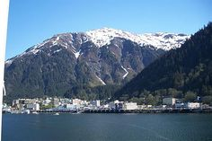 Juneau Alaska - the only state capital you can't drive to