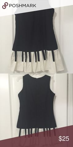 Piano style dress A beautiful dress that looks just like a piano at the end! Sassy and cute it was modified so it could fit a little tighter on the waist! Dresses Midi