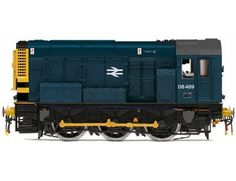 The Hornby BR 0-6-0 Class 08 Shunter in Blue is part of the Diesel/Electric Locomotive range and accurately recreates the real life locomotive with stunning details.