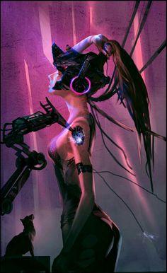 Cyberpunk 2077, Cyberpunk Girl, Foto Fantasy, Dark Fantasy Art, Sci Fi Fantasy, Wallpaper Gamer, Sci Fi Wallpaper, Wallpaper Wallpapers, Arte Robot