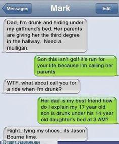 Fuunny texts.